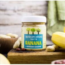 Паста Арахисовая Кранчи с Бананом ЕатВил 200 гр