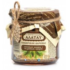 Варенье из Сосновой шишки с Кедровым орехом 260 гр Алатау
