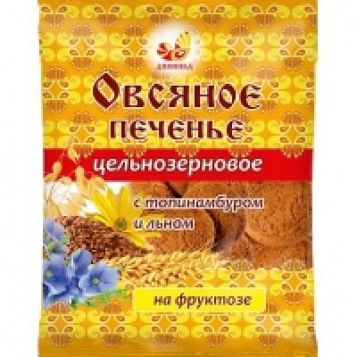 """Печенье Овсяное Топинамбур 300 гр Дивинка  от Экомаркет """"Овсянка"""""""