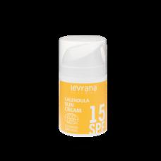 Крем для лица Календула 15 SPF солнцезащитный (мат. эффект) 50 мл Леврана