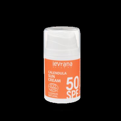 Солнцезащитный крем для тела Календула 50 SPF 50 мл Леврана