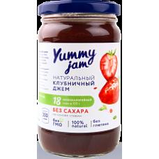 Джем низкокаллорийный Клубничный 350 гр Yummy Jam
